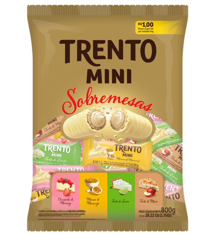 Trento Mini SOBREMESAS